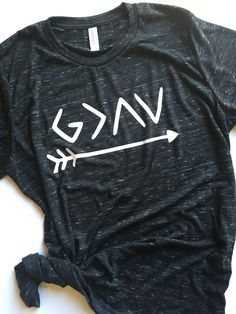 God is Greater Than the Highs and Lows Women's Crewneck Tee Shirt Faith Style Boho Top by PolishedNickel on Etsy https://www.etsy.com/listing/477650353/god-is-greater-than-the-highs-and-lows