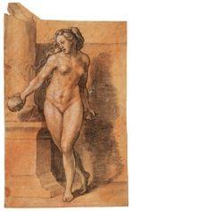 Bewegungsstudie eines weiblichen Körpers (Die sogenannte Steinwerferin)