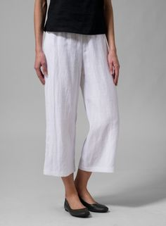 Linen pants I can make these for less than they cost here. for sure