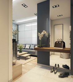 Ideas Apartment Entrance Wall Mirror For 2019 - kitchen apartment. Ideas Apartment Entrance Wall Mirror For 2019 Ideas Apartment Entrance Wall Mirror For 2019 Apartment Entrance, House Entrance, Entrance Ideas, Modern Entrance, Small Entrance Halls, Entrance Hall Decor, Modern Hall, Modern Entry, Apartment Ideas