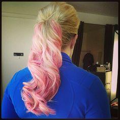 PINK + blonde! #Chromashine #CHIcolor