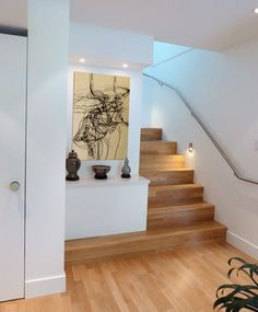 Vancouver Special Renovation modern-staircase