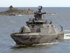 "The Hamina class missile boat is a class of fast attack craft of the Finnish Navy. Technically they are classified as ""missile fast attack craft"" or ohjusvene, literally ""missile boat"" in Finnish"