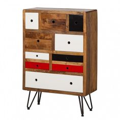 Commode Valaire II - Manguier massif | home24.fr