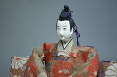 16.5 43cm Antique Hina Doll. Hina Ningyo. Meiji by templeMARKET