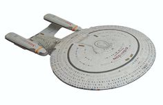 Star Trek: The Next Generation Enterprise D Ship Join the crew of the USS Enterprise for the adventure of a lifetime with this legendary starship! Star Trek Cake, Star Wars, Uss Enterprise D, Star Trek 2009, Star Trek Collectibles, Kids Store, Action Figures, Stars, Diamond