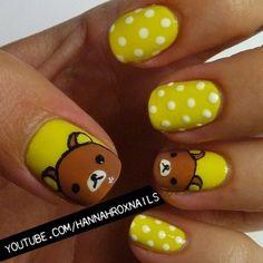 Rilakkuma Nails