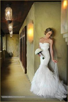 Love this picture, but would love it if the groom was at the end of the hall.