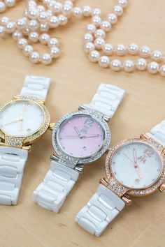 Absolutely in love with these elegant Jivago watches!