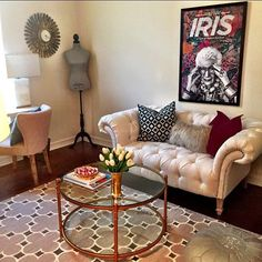 A Room of Her Own!  #iris #moreismore #lessisabore #besthusbandever #doyouloveit #frickspicks #therealgoldengirl #over50andfabulous #myway #irisapfel #inspirational #giftoflove #maxxlife #contest #tjmaxx #homegoods #therim #homesweethome