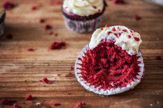 La Cocina de Carolina: Cupcakes red velvet, la receta que dejó boquiabierto a todo aquel que la probó