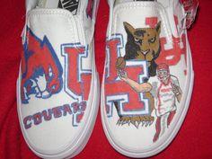 University of Houston shoes.