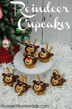 Reindeer Cupcakes :