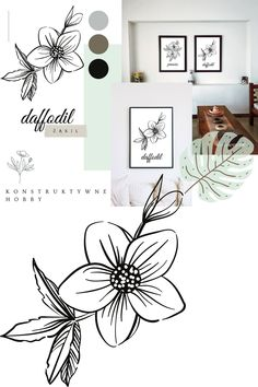 Wiosenne plakaty do druku. #3 ŻONKIL Ostatni z trójki bliźniaczych plakatów, stanowiący dopełnienie tryptyku Żonkil. Narcyz trąbkowy to nieśmiertelny zwiastun i symbol wiosny, dlatego nie może zabraknąć go w zestawieniu majowych obrazów. Diy, Home Decor, Decoration Home, Bricolage, Room Decor, Do It Yourself, Home Interior Design, Homemade, Diys