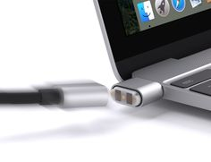 The BreakSafe Magnetic USB Type C Cable is compatible with the newest MacBook as well as Chromebook Pixel.