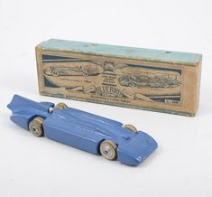 Britains Toys  Protius Bluebird land speed record car