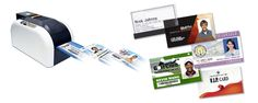 Muovikorttitulostin Pauner H-200e on erinomainen korttitulostin ratkaisu, kun tarvitsee tehdä henkilökunnalle ID-kortti tai asiakkaille asiakaskortti