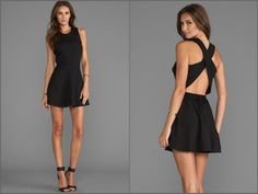 The Twisted Circle Dress in Black by Naven @NAVEN