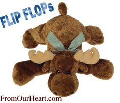 Flip Flop Milty Moose is soft, floppy and oh so huggable. A delight for any child. $16.15