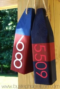 Make your own nautical wood buoys - How To