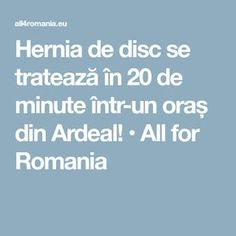 All for Romania Optimism, Alter, Romania, Health, Medicine, Health Care, Salud