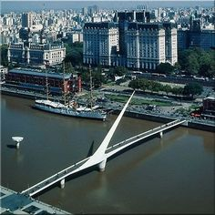 Puente de la Mujer, Argentina  pinned by www.ukgardening-directory.co.uk