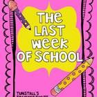 This Last Week Of School Pack includes:  5 Cute Daily Math pages centering around the end of school theme  5 Cute Daily Language pages centerin...