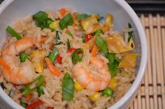 Sugar, spice and everything nice! Wok, Potato Salad, Shrimp, Seafood, Spices, Meat, Ethnic Recipes, Sugar, Gourmet
