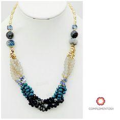 Crystal Blue Glam   Para más info contactanos : 809 853 3250 / 809 405 5555 Pagos a través de Paypal  Delivery  Envoltura disponible   #newarrivals #available #necklace #glam #crystals #blue #chic #accesories #jewelry #trendy #delicate #precious #glam #gorgeous #unique #fancy #byou #becomplete #pretty #complementosjewelry #complementosrd