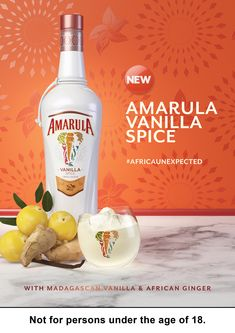 Amarula SA Two on Behance Coffee Drinks, Vodka Bottle, Caramel, Vanilla, Spices, Behance, Food, Home, Sticky Toffee