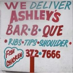 Ashley's BBQ in Milwaukee.