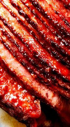 Apple Cider Maple Glazed Ham