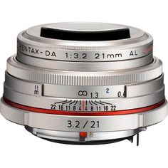 Pentax DA Limited 21 mm f/3.2 Wide Angle Lens for Pentax KAF