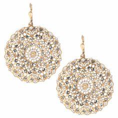Fines Perles Filigree Earrings with Delicate Pearls - Emi Jay