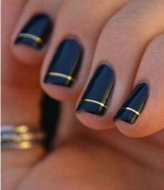 Los 7 mejores diseños de nail art A RAYAS - IMujer