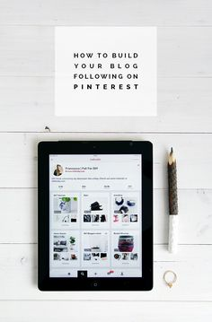 How to build your blog following on Pinterest || Fall for DIY