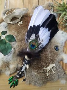 Your place to buy and sell all things handmade Turkey Feathers, Pheasant Feathers, Feather Crafts, Feather Art, Wing Necklace, Wing Earrings, Dream Catcher Boho, Dream Catchers, Stone Beads