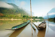 boats in Asia...