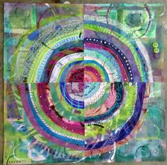 Recycled Circles ~ Student work by janelafazio, via Flickr