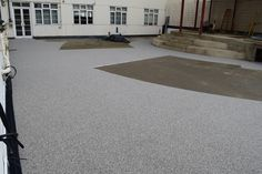Resin Bound Patio in Silver