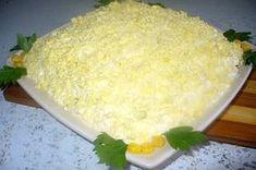 Салат с тунцом и крабовыми палочками «Нежный»