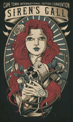 Cape Tattoo Expo 2013 by One Horse Town Illustration Studio, via Behance