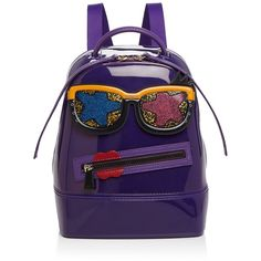 Furla Candy Gang Mini Backpack ($510) ❤ liked on Polyvore featuring bags, backpacks, purple bags, day pack backpack, backpack bags, rucksack bags and knapsack bag