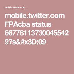 mobile.twitter.com FPAcba status 867781137300455429?s=09