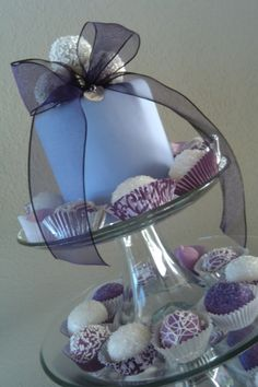 Lavender Cake Pops By cookieswithdots on CakeCentral.com