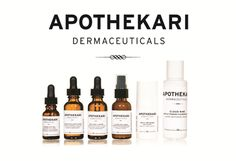 New from Pharmacymix:  Apothekari Dermaceuticals.  Website launching soon.