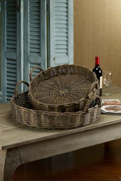 Willow Trays from Soft Surroundings