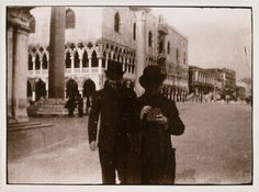 Pierre Bonnard, Ker-Xavier Roussel and Edouard Vuillard, Venice, 1899;
