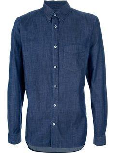 Dark Indigo cotton shirt / by Acne