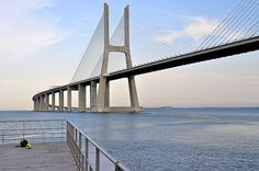 bridge Vasco da Gama - photo by ivan capelo
